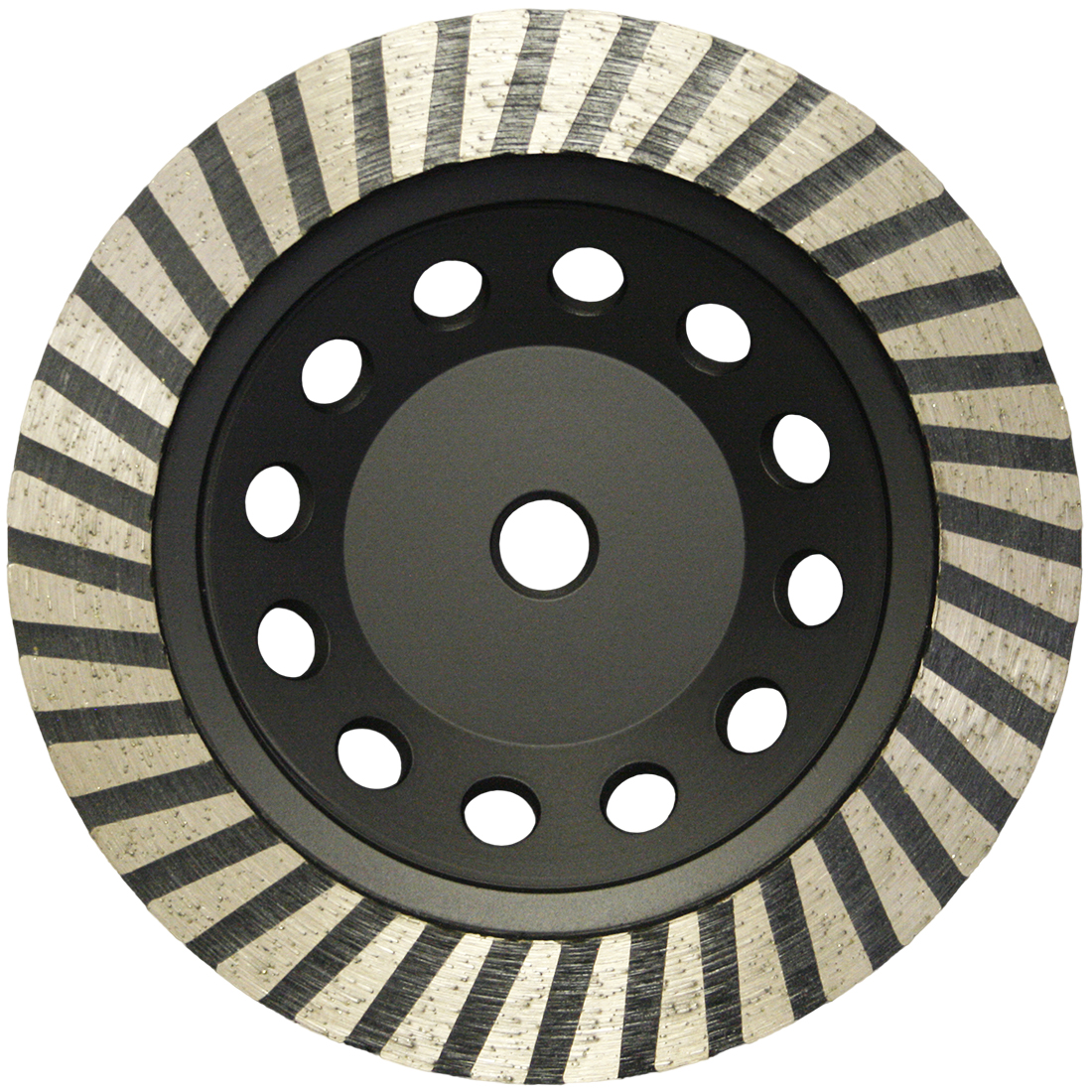 4 Piece X 4 inch Coarse Grinding Diamond Turbo Cup Wheel 5//8-11 Granite Concrete